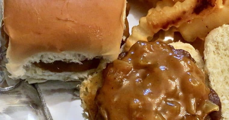 Mustard Barbecue Sauce and Bazaar Burgers