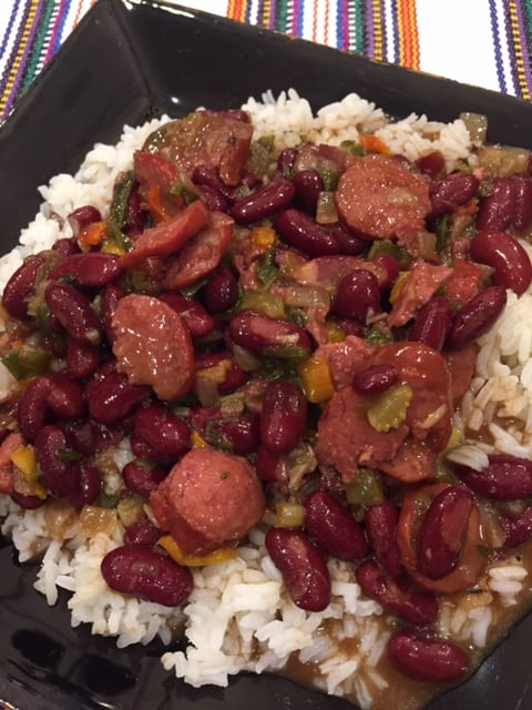 Va Vite Red Beans and Rice