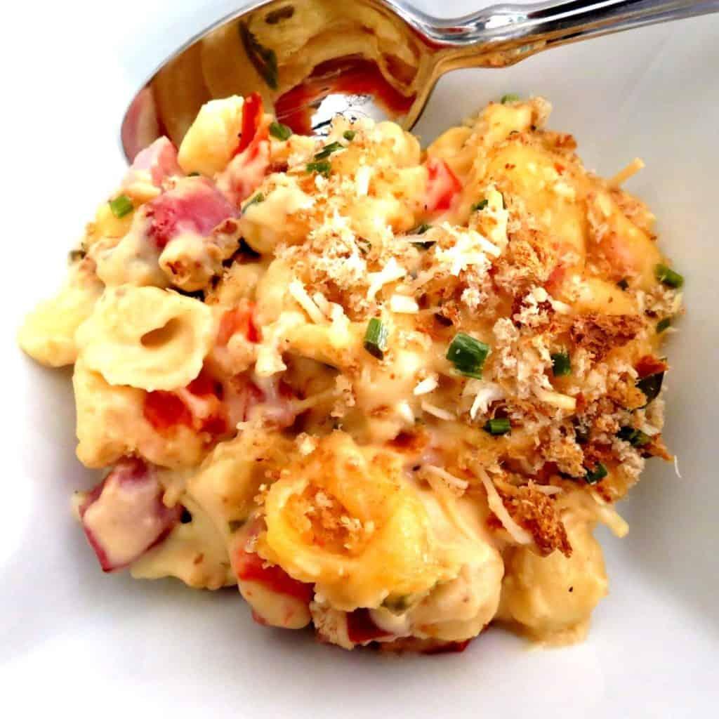 tasso macaroni and cheese