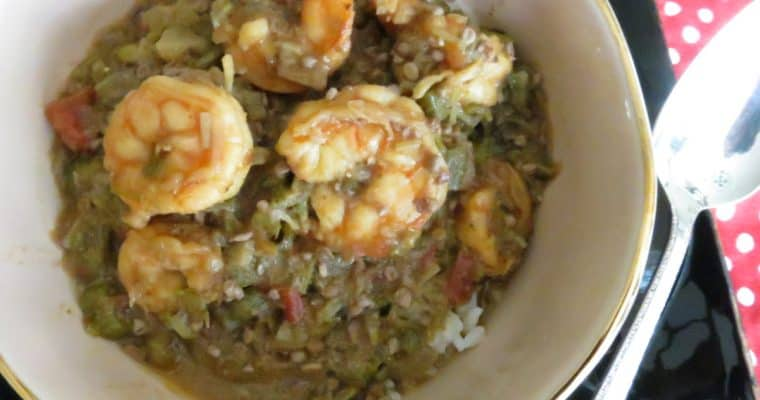 Shrimp Okra Gumbo Fitting for Fall and All