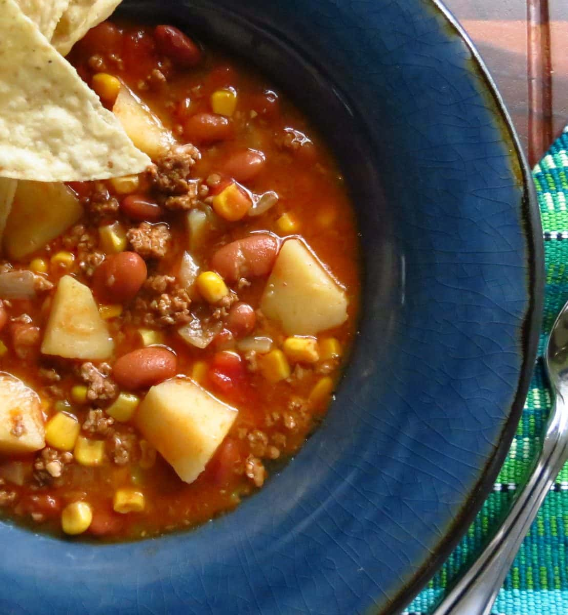 Cowboy Stew With Hamburger Meat
