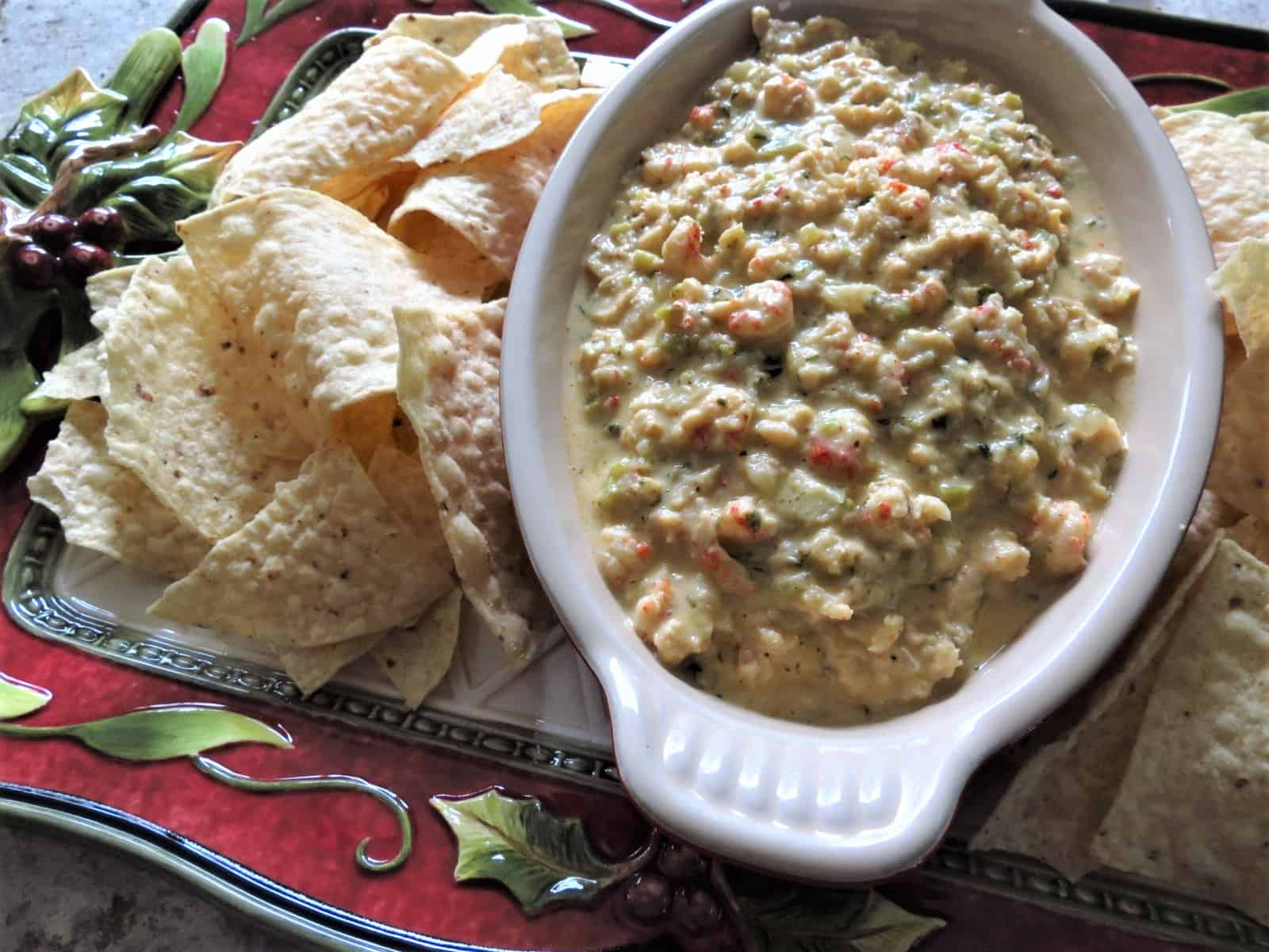 Chunky Cheesy Creamy Crawfish Dip