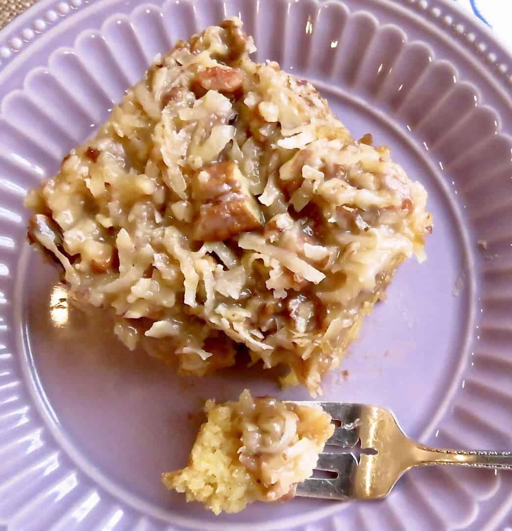 Cajun Cake, An Immoderate Indulgence