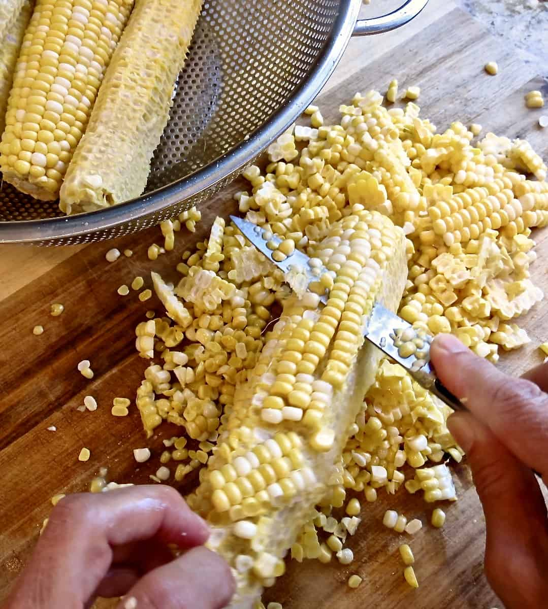 Corn Maque Choux - Louisiana Woman